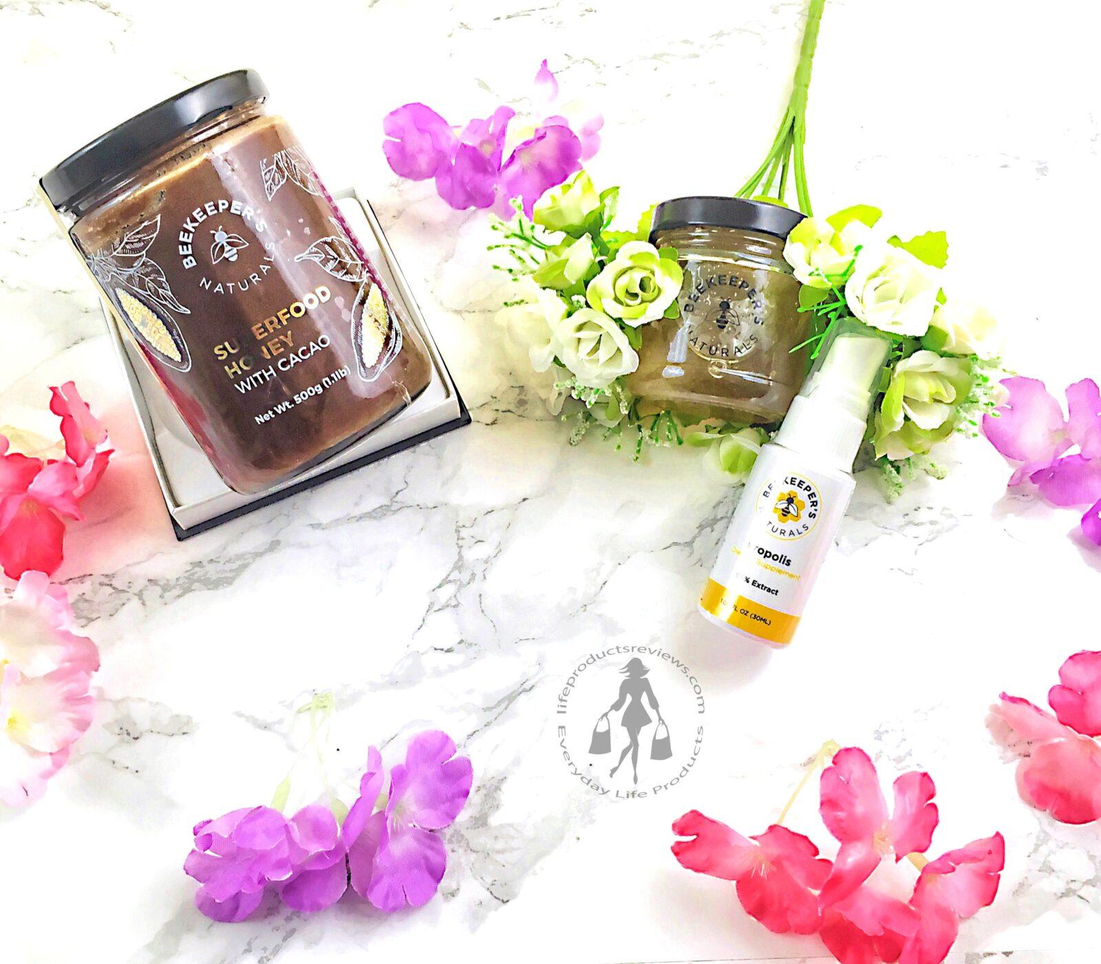 Honey-clover-cocao-beekeepers-naturals